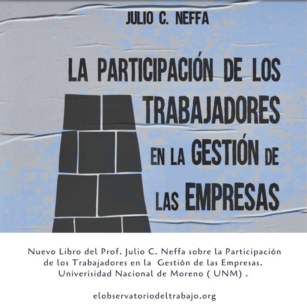 Nuevo Libro de Julio C. Neffa